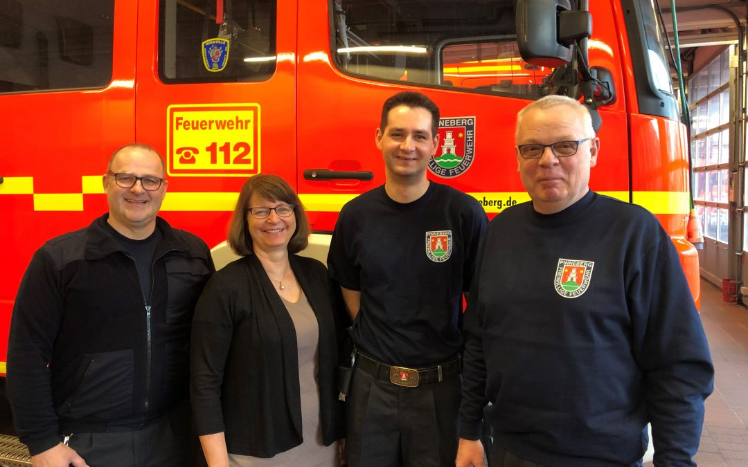 Neu im Team der Gerätewarte unserer Feuerwehr – Anastasios Dreeßen