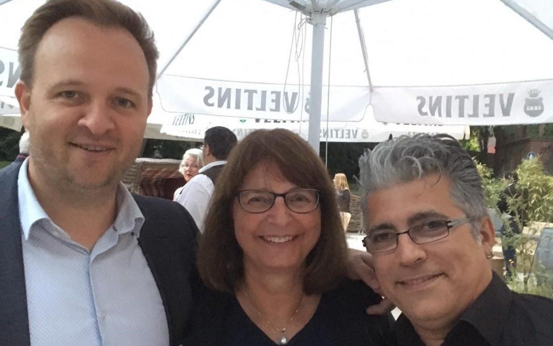 Eröffnung des Pinneberger Weinfestes